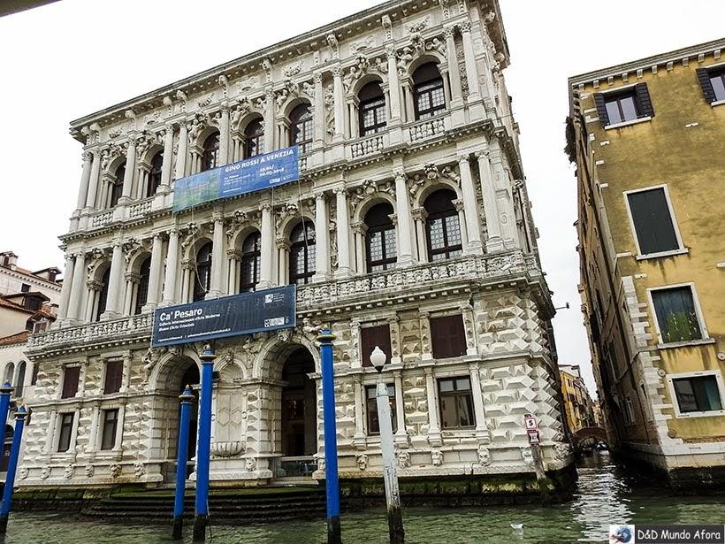 Ca' Pesaro - O que fazer em Veneza
