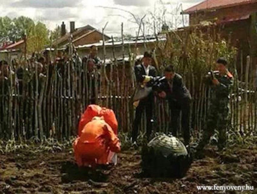5 ismeretlen objektum zuhant le Kínában