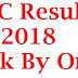 SSC Result 2018 Check By Online