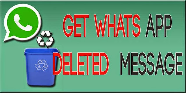 How to Get back Deleted Whatsapp Messages