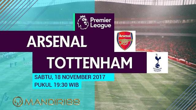 Derbi London Utara tersebut menjanjikan berkelahi panas mengingat persaingan keduanya yang sem Berita Terhangat Prediksi Bola : Arsenal Vs Tottenham Hotspur , Sabtu 18 November 2017 Pukul 19.30 WIB @ MNCTV