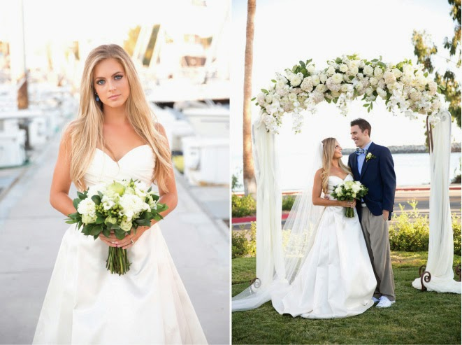 A Sea of Inspiration : Nautical Wedding Ideas - Belle The Magazine