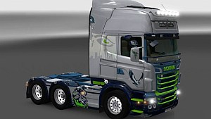 Scania RJL Seattle Seahawks skin
