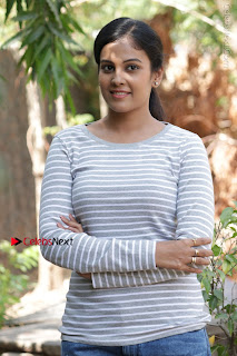 Tamil Actress Chandini Tamilarasan Latest Pos in Ripped Jeansat Ennodu Vilayadu Press Meet  0026.jpg