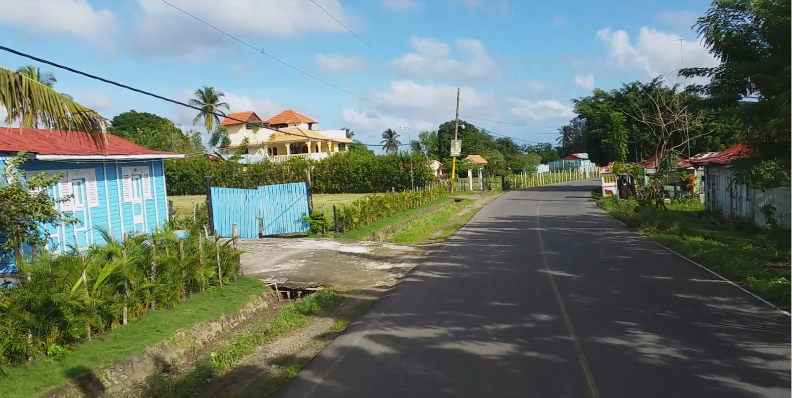 Wioska na Dominikanie