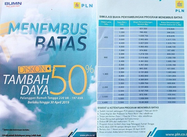 Pln Padangsidimpuan Gulirkan Program Promo Bagi Pelanggan Yang Tambah Daya Listrik Harian9 Com