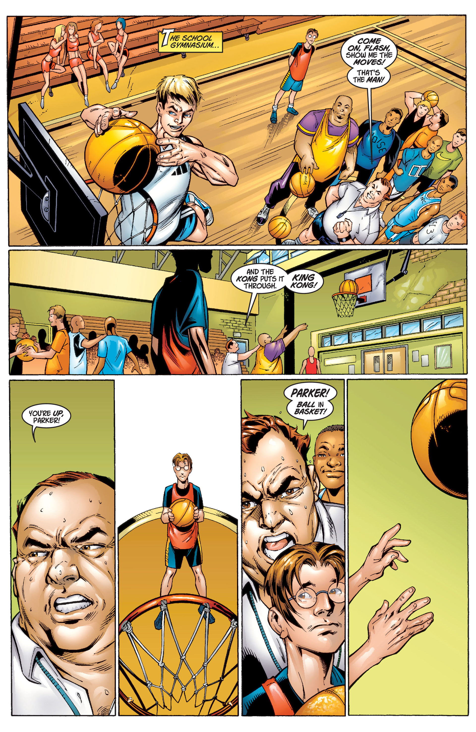 Read online Ultimate Spider-Man (2000) comic -  Issue #1 - 13