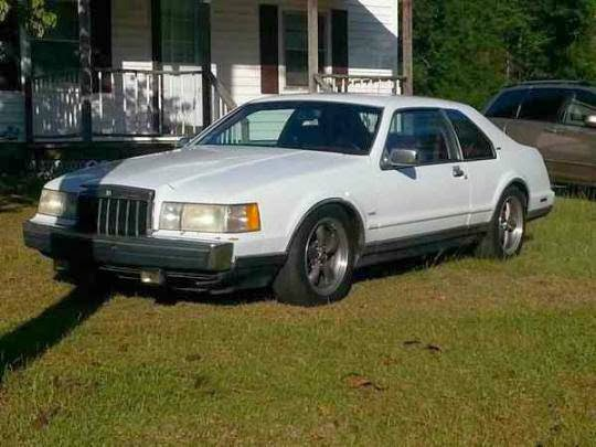 Daily Turismo 5k Hot Rod Lincoln 1988ish Lincoln Mk Vii Lsc With