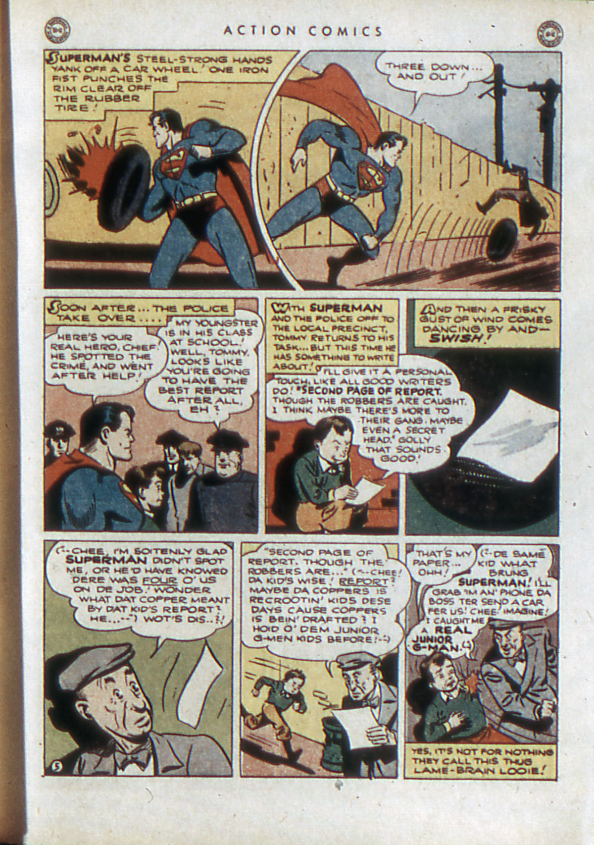 Read online Action Comics (1938) comic -  Issue #84 - 8