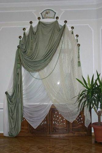 arched window curtains,arched windows curtains