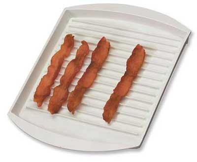 Bacon Powder Gallery Pan Microwave