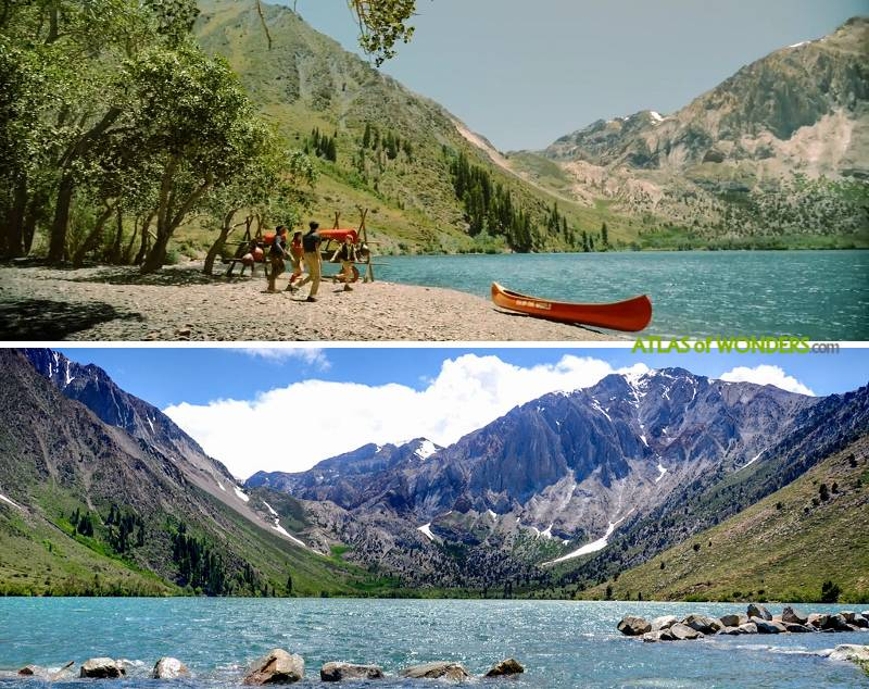 Convict Lake shooting locations