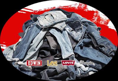 Seluar Jeans bundle berjenama