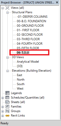 Revit Structures Create A View Template With