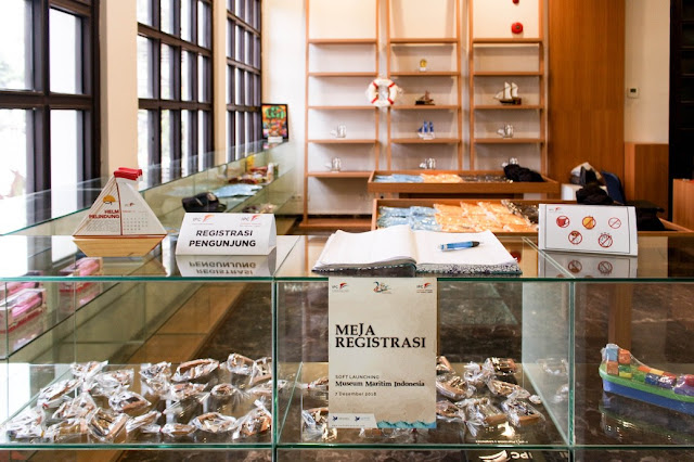 registrasi pengunjung museum maritim indonesia