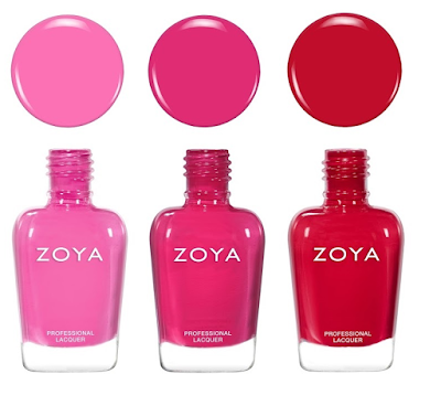 Zoya Sunshine Collection Sandy, Ellie, Karen