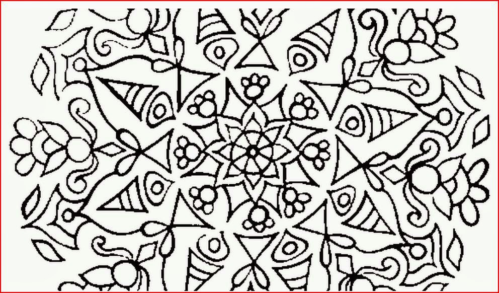 Coloring Pages: Abstract Coloring Pages Free and Printable