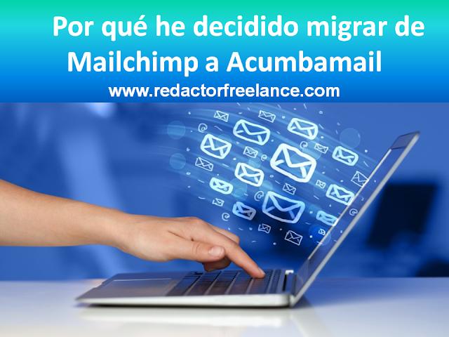 Por qué he decidido migrar de Mailchimp a Acumbamail