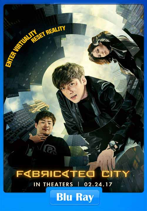 Fabricated City 2017 480p BluRay 350MB x264