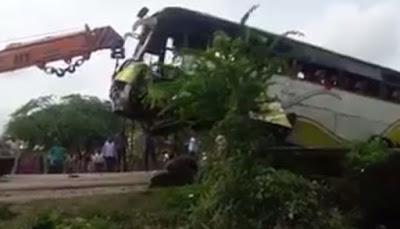 उदयपुर में बस के पलट जाने से 9 लोगों की मौत