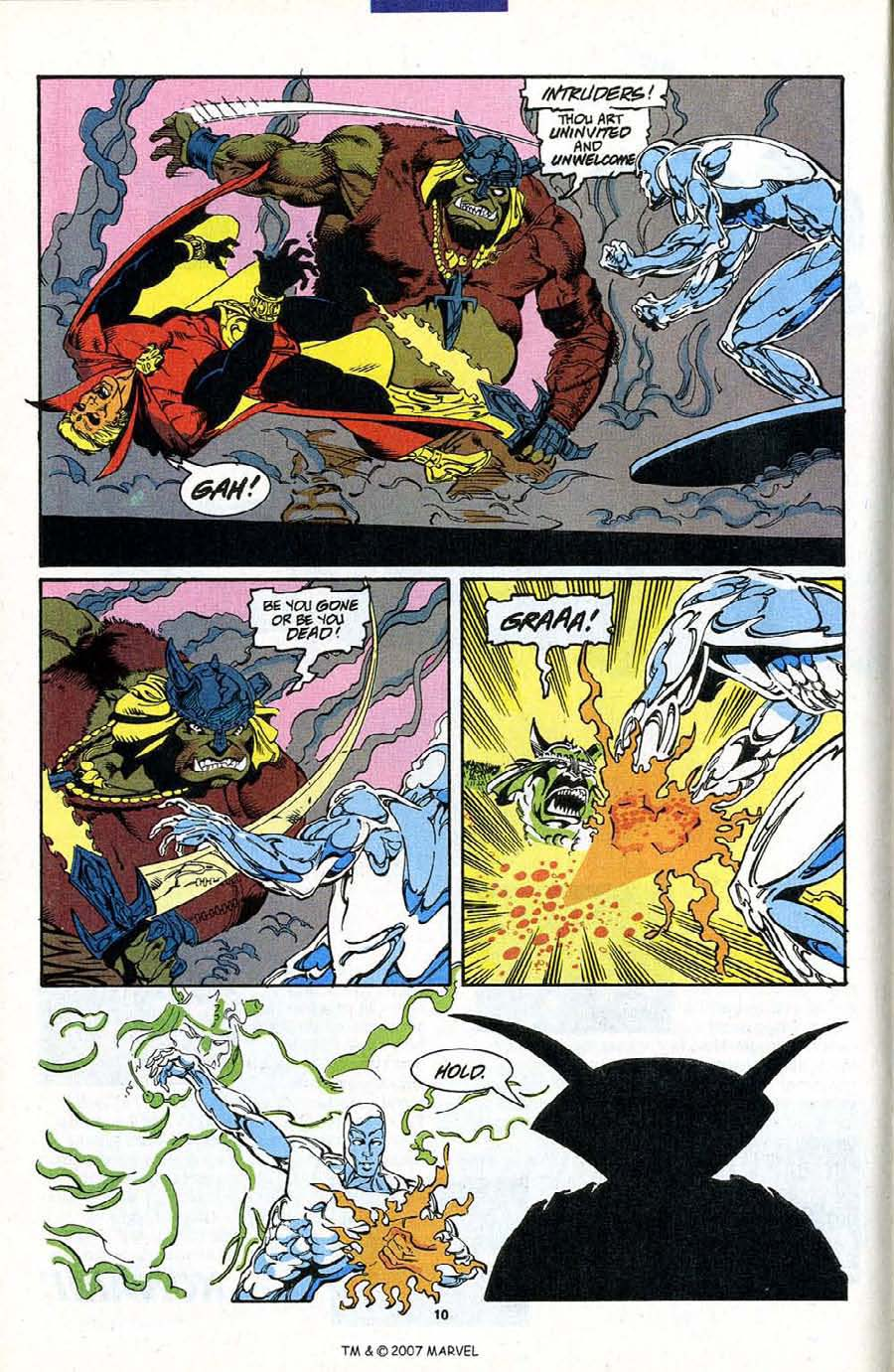 Read online Silver Surfer (1987) comic -  Issue #87 - 12