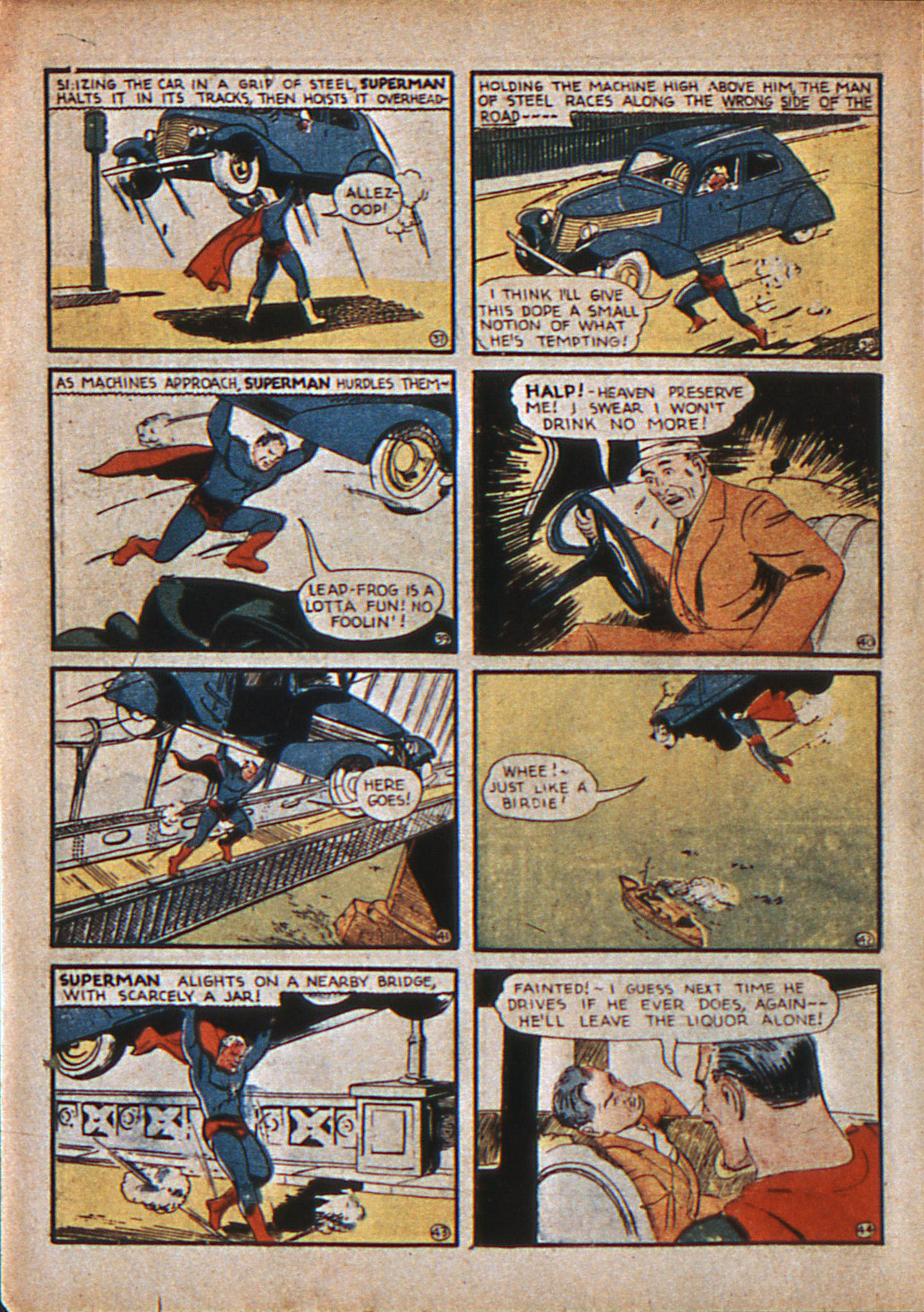 Read online Action Comics (1938) comic -  Issue #12 - 9