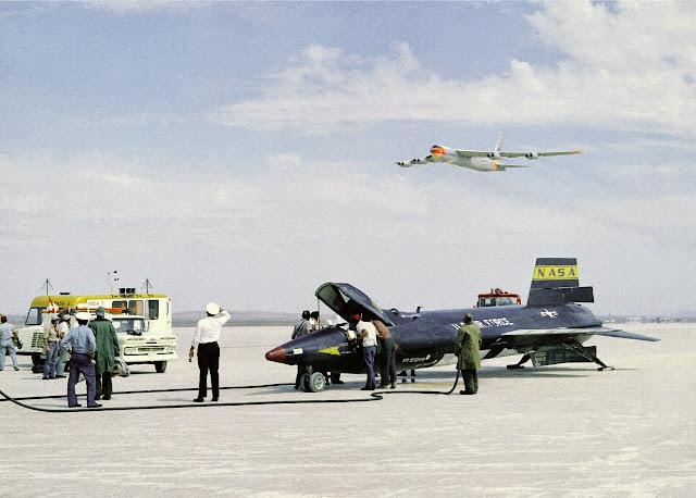 Avión más rápido del mundo. North American X-15