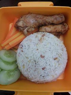 Ayam Kalio Tulang Lunak + Wortel + Nasi KongBap