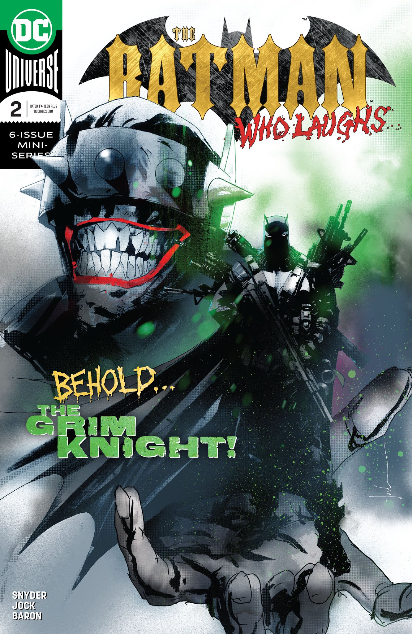 The Batman Who Laughs 2 Page 1