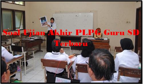 Soal Ujian Akhir PLPG Guru SD Terbaru