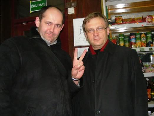 Zigmas Vaišvila agituoja balsuoti