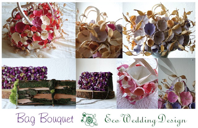 bag bouquet di carta