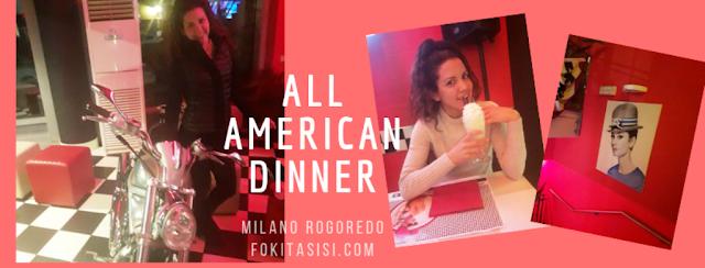 (Imagen) All American Dinner ha sido la motocicleta Harley Davidson en la entrada, mientras te entretienes con la música de Elvis Presley en fondo