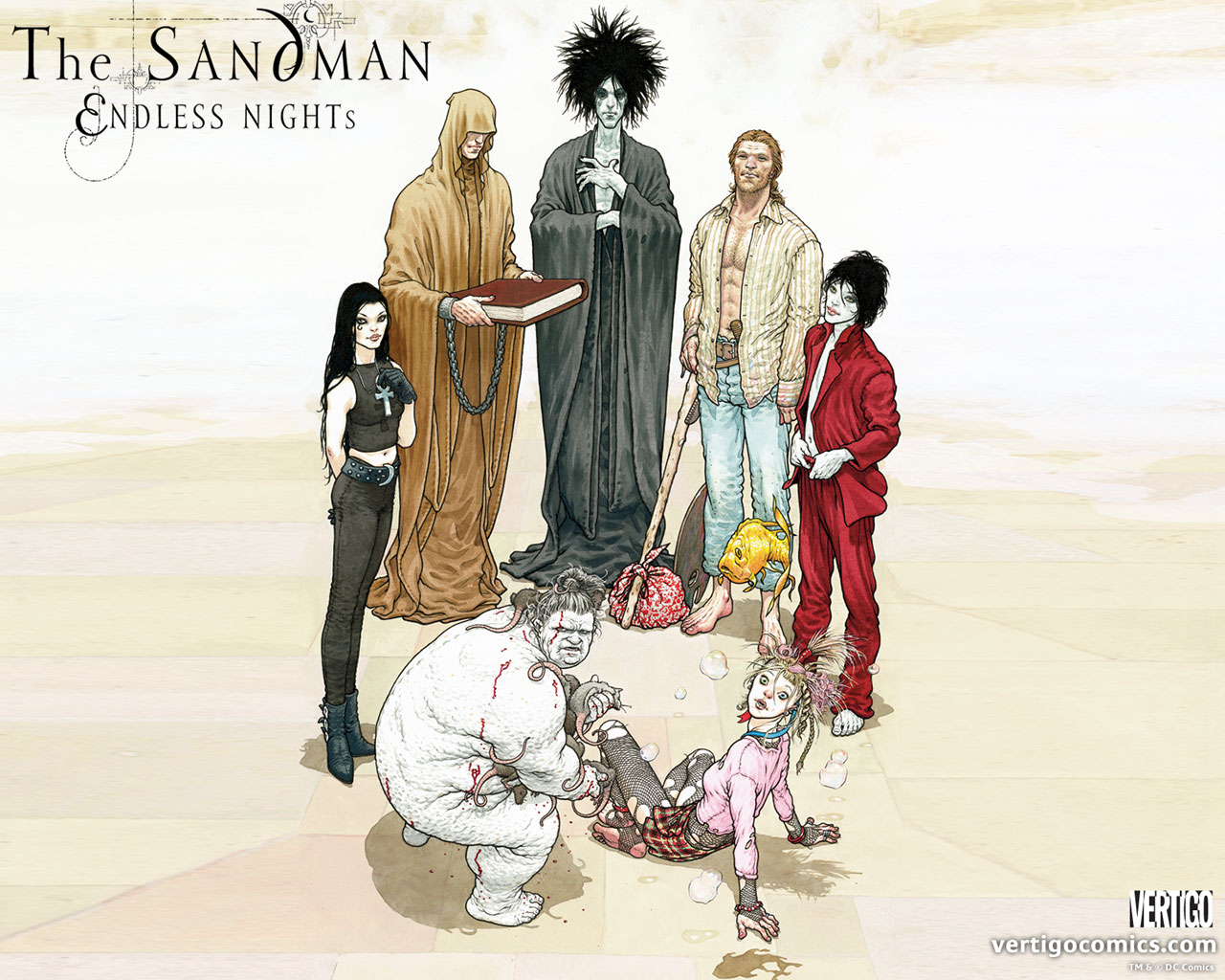 Graphic Content: Series Review: The Sandman