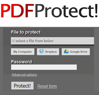 Mettere la password ad un file pdf online