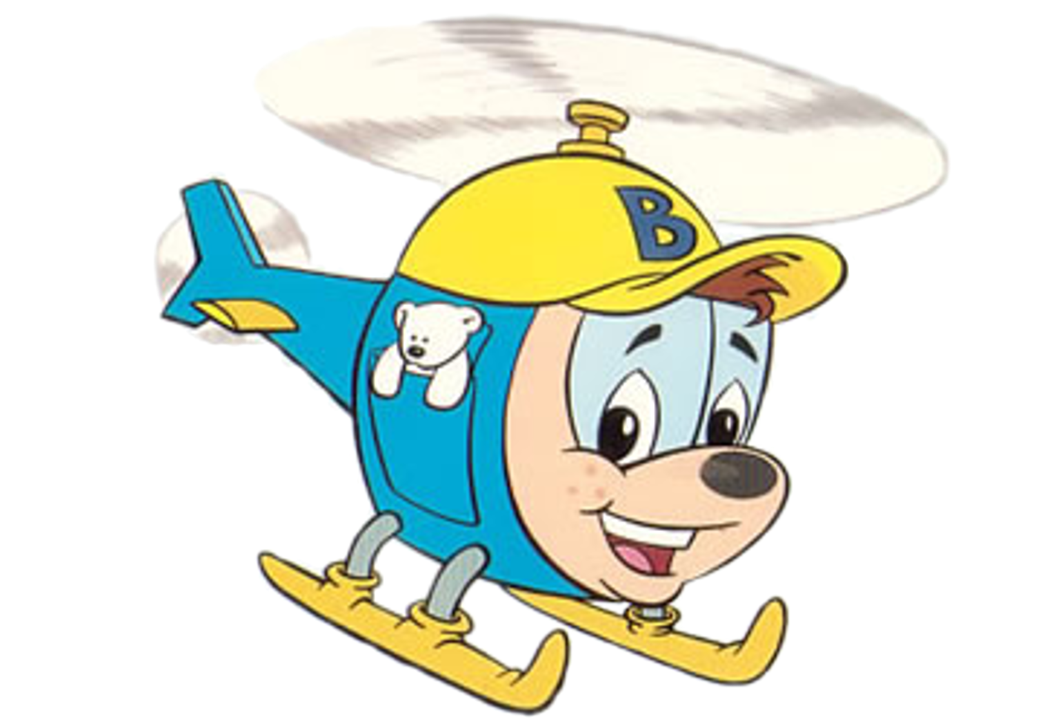 Cartoon Characters: Budgie the Little Helicopter (HQ)