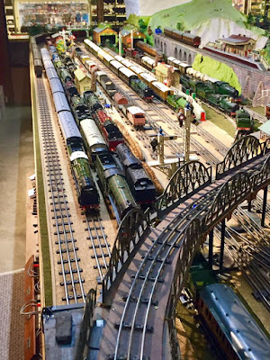 Brighton Toy and Model Museum Running Day, Hornby, Marklin, Bassett-Lowke, Minic, Tri-Ang, Bridges, Toys, Trains, Models,