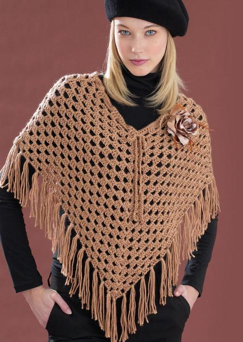 Crochet Poncho - Easy, Simple, Classic