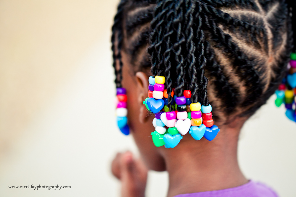 Beads Braids And Beyond Little Girls Natural Hair Style Flat