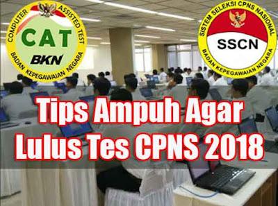 Pada umumnya mereka selalu berharap biar bisa lolos tes CPNS tahun ini Inilah Tips Ampuh Agar Lulus Tes CPNS Tahun 2018