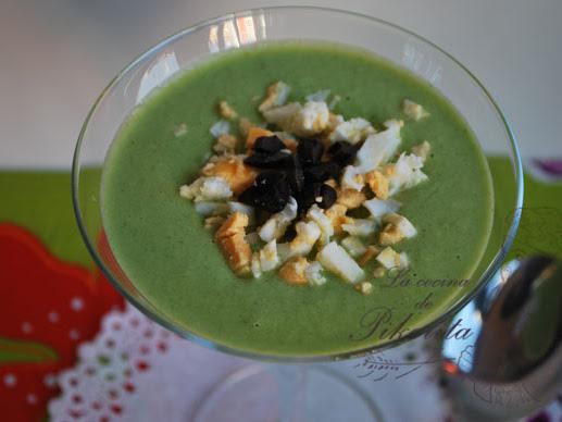 Gazpacho de lechuga