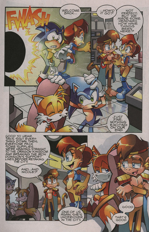 Read online Sonic The Hedgehog comic -  Issue #209 - 22