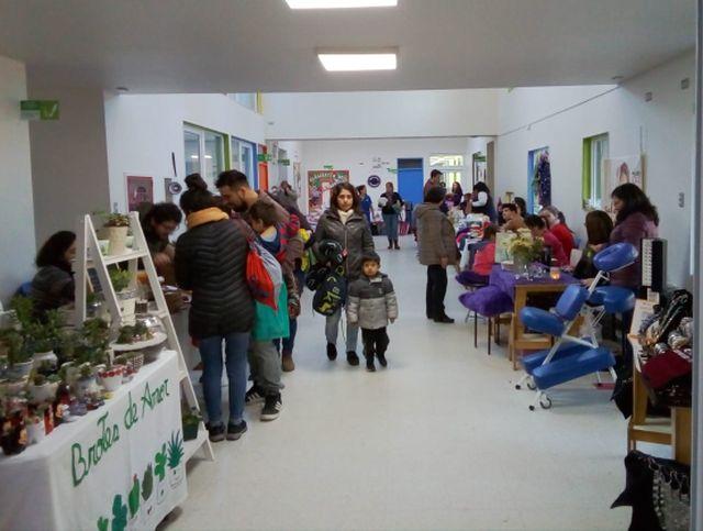 Feria de Emprendedores en Jardín Infantil Bosque