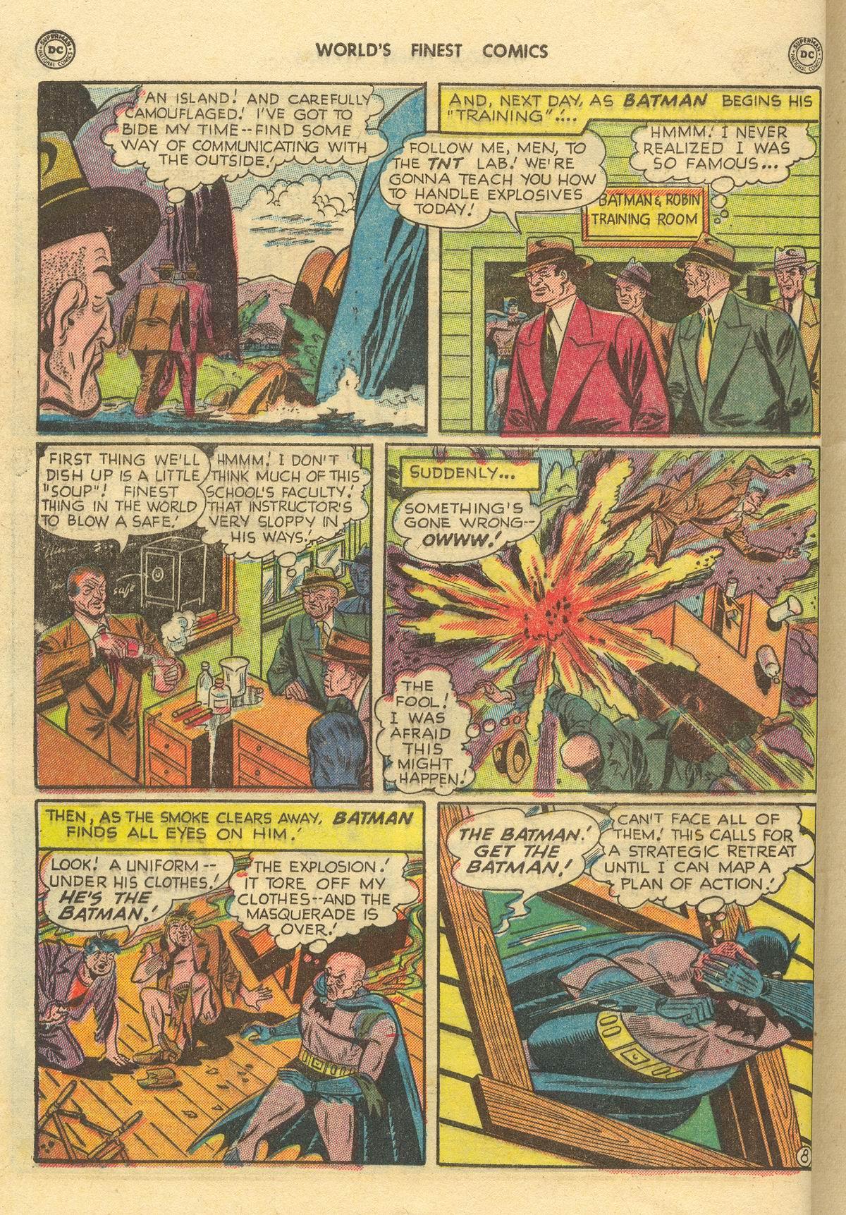 Read online World's Finest Comics comic -  Issue #51 - 70