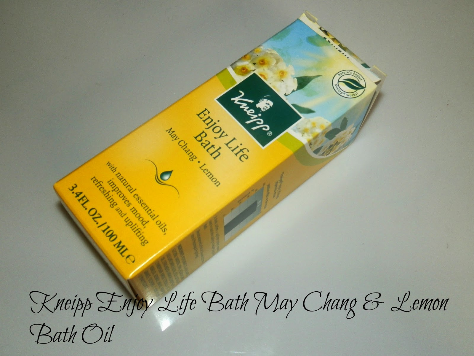 Kneipp Enjoy Life Bath May Chang & Lemon Bath Oil Reviews