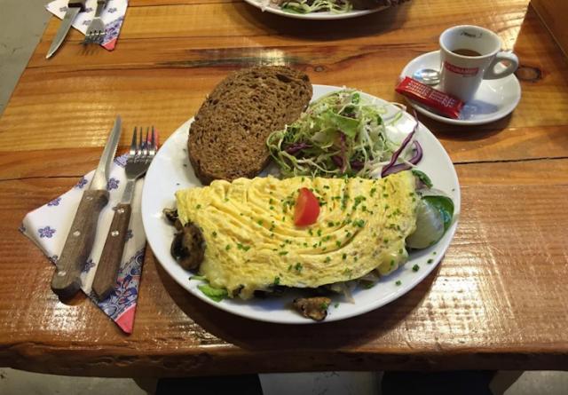 Restaurante Omelegg em Amsterdã