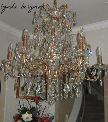 Image result for Lynda Bergman hand painting light fixtures chandeliers