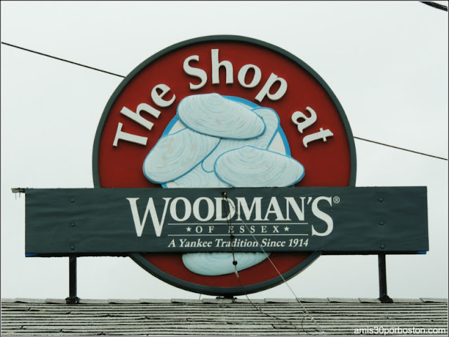 Lobster Shacks en Massachusetts: Tienda de Regalos de Woodman's of Essex