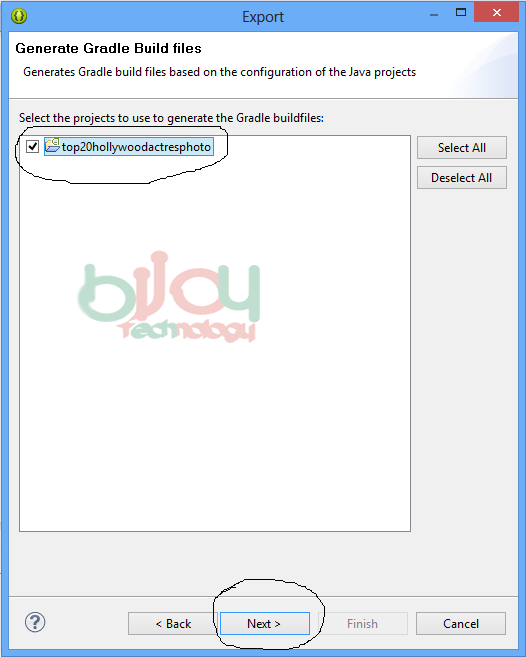 How to import Eclipse project in Android Studio? 3