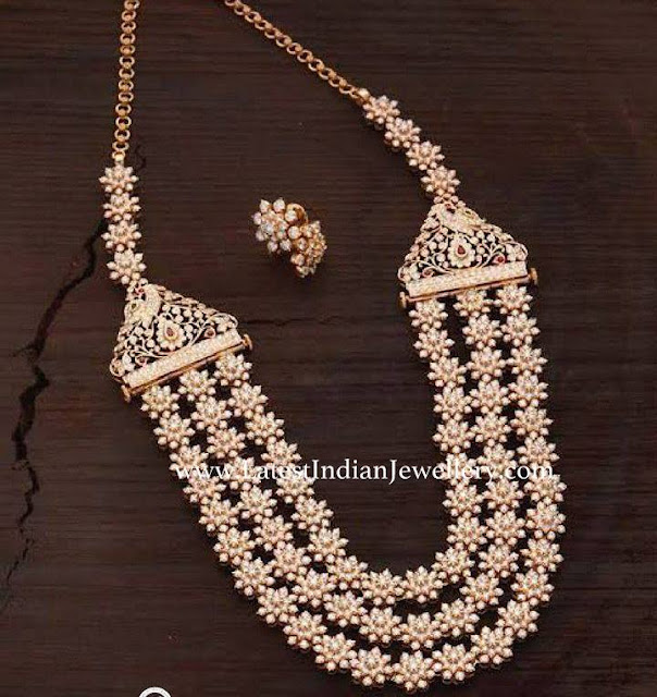 Rich 3 Line Diamond Mala